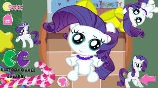 getlinkyoutube.com-Pocket Pony Beauty Rarity Day: My little pony game for kids