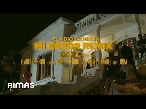 Mi Error Remix ( Video Oficial )