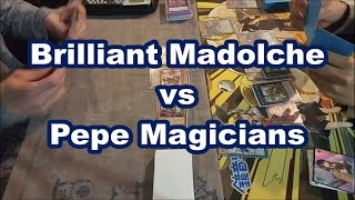getlinkyoutube.com-Brilliant Madolche vs PePe Magicians Yugioh Full Match