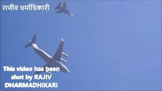 Indian Air Force fighter planes flypast in New Delhi