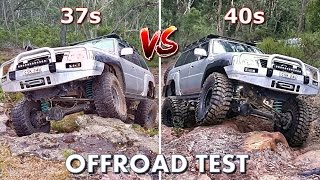 getlinkyoutube.com-The Ultimate Offroad Test: 37s vs 40s