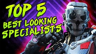 "getlinkyoutube.com-TOP 5 ""BEST LOOKING SPECIALIST GEAR SETS"" in Black Ops 3 - (Top 5 BO3)"