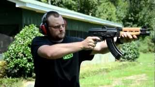 getlinkyoutube.com-Zastava M92 AK47 Krink Pistol PAP 7.62x39mm