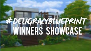 getlinkyoutube.com-The Sims 4 #deligracyBlueprint Challenge WINNERS