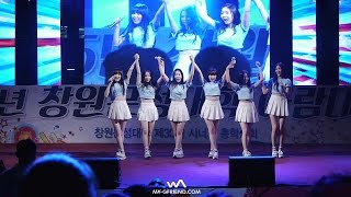 getlinkyoutube.com-150521 여자친구(GFRIEND) - Bring It All Back @창원문성대 축제 직캠/Fancam by -wA-