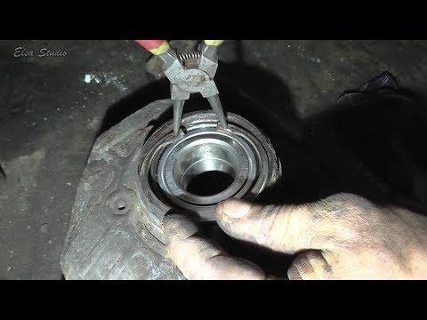 Замена подшипника передней ступицы Chevrolet Lacetti