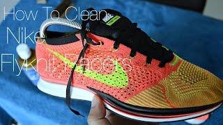 getlinkyoutube.com-How To Clean Nike Flyknit Racers
