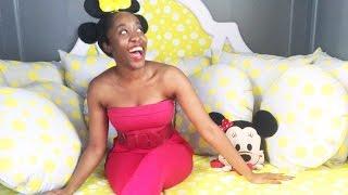 getlinkyoutube.com-VLOG   LFW Spring Summer '16 + Minnie Mouse Styled Natural Hair - Jennifer Agwunobi ♥