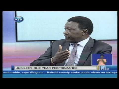 Jubilee scorecard interview with Davies Chirchir and Bonney Tunya