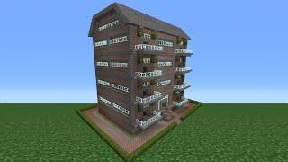 getlinkyoutube.com-Minecraft Tutorial: How To Make An Apartment Complex