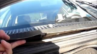 getlinkyoutube.com-Remove and replace pollen filter Alfa Romeo 156