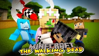 getlinkyoutube.com-Minecraft The Walking Dead : BECOMING THE ZOMBIE LEADER!