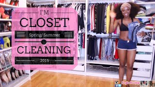 getlinkyoutube.com-I'm Cleaning Out My Closet: Spring Cleaning 2015 :-)