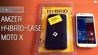 amzer hybrid case for the moto x