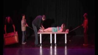 getlinkyoutube.com-Ron Saylor's Cutting a Woman in Half, Live on Stage