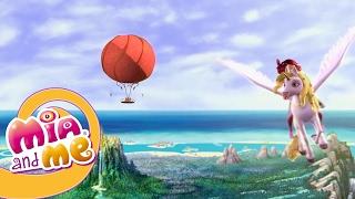 getlinkyoutube.com-Мия и Я - 1 сезон 13&14 серия - Огненный единорог |  Мультики для детей про эльфов, единорогов
