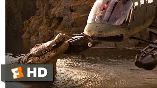 Lake Placid (5/5) Movie CLIP - Hector's Close Call (1999) HD width=