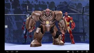 getlinkyoutube.com-Marvel Future Fight: Kingpin Level 60 (Blastpin)