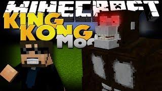 getlinkyoutube.com-Minecraft Mod - King Kong Mod - New Boss and Items