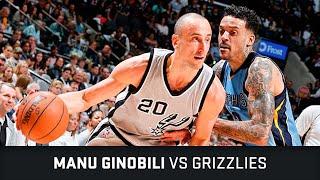 getlinkyoutube.com-Manu Ginobili Highlights: 13 PTS, 5 AST vs Grizzlies (25.03.2016)