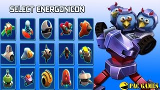 getlinkyoutube.com-Angry Birds Transformers - New Energonicons Unlocked