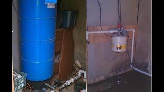 getlinkyoutube.com-How To Replace Pressure Tank, Eliminate Big Pressure Tank