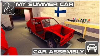 My Summer Car - Episode 3 - Car Assembly