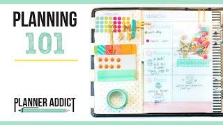 Planning 101: Heidi Swapp Planner Set Up & Walk Through