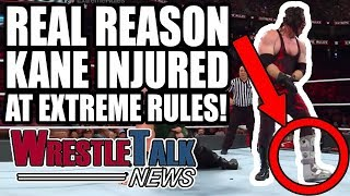 WWE Team BREAKING UP? Real Reason Kane INJURED At WWE Extreme Rules! | WrestleTalk News July 2018