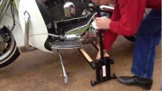 Motorcycle Lift Stand | Buy The V Lift Today 904-491-6844