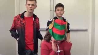 getlinkyoutube.com-Bars & Melody Meet & Greet @Intu Merry Hill Christmas lights 2014 HD