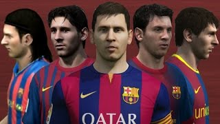 getlinkyoutube.com-Lionel Messi from FIFA 06 to 15 (Face Rotation and Stats)