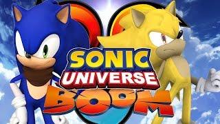 getlinkyoutube.com-Sonic Universe Co-op /w SonicDBZFan07 - Part 1 City Escape/Power Plant/Hang Castle
