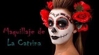 getlinkyoutube.com-Maquillaje de La Catrina Paso a Paso