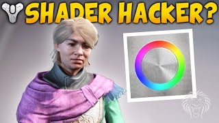 getlinkyoutube.com-Destiny: SHADER HACKER! Custom Shaders & New Eva Levante Faction? (Spring DLC April Update)
