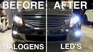 getlinkyoutube.com-LED Headlights: Are they Better than Halogens?