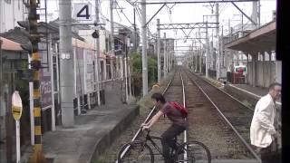 getlinkyoutube.com-阪堺電車阪堺線の前面展望 浜寺公園前から天王寺駅前 train view