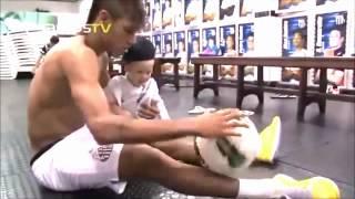 getlinkyoutube.com-Neymar & Davi Lucca - Father To Son