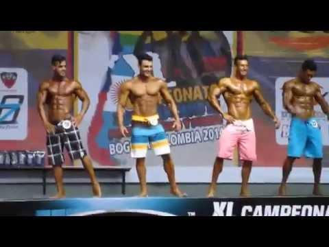 CAMPEONATO SUDAMERICANO 2014 IFBB MENS PHYSIQUE UP 1,76M