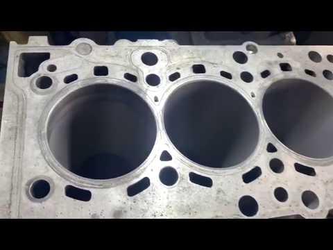 Запчасти в работе: Гильзовка блока двигателя 3.0л дизель N57D30 от BMW X5