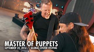 getlinkyoutube.com-Metallica: Master of Puppets (Live - Global Citizen - New York, NY - 2016)