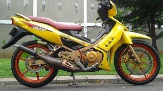 getlinkyoutube.com-Motor Trend Modifikasi | Video Modifikasi Motor Suzuki Satria 2 Tak Hiu Terbaru