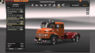 getlinkyoutube.com-Euro Truck Simulator 2 (Обзор Mercedes Benz 1934_33_32_29 V 2.1)