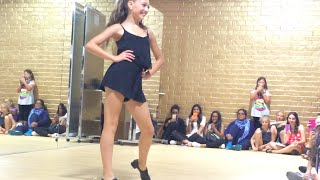 getlinkyoutube.com-Maddie Ziegler -These Boots Were Made For Walking (ALDC LA Meet and Greet)