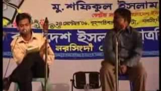 getlinkyoutube.com-Islami natok interview  shibir