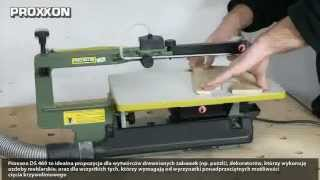getlinkyoutube.com-Test wyrzynarki stołowej Proxxon DS 460