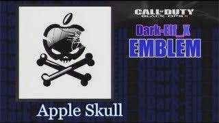 getlinkyoutube.com-Black Ops 2 Emblem - Apple Skull