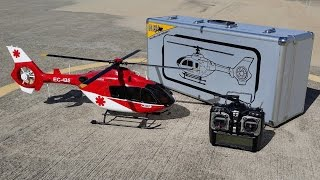 EC135 450 Size with Fenestron and many Scale Details