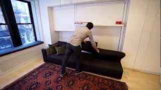getlinkyoutube.com-Otto stanze in 40 metri quadrati: il loft trasformista