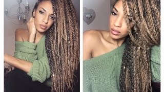 getlinkyoutube.com-DIY Chunky Marley Twists 2 easy install methods